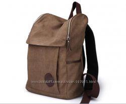 В наличии новый брезентовый рюкзак