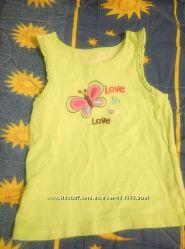 Майка и рубашка для девочки
