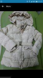 Зимнее пальто на девочку3-5 лет