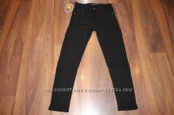 Утепленные котоновые брюки на девочку. р. 134-164
