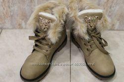Классные женские ботинки р. 38, 39 Польша