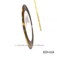 Самоклеящаяся лента-фольга для дизайна длина до 20 м