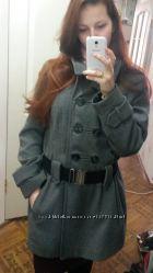 Серое пальто George