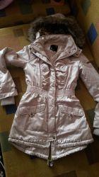 Кремовая куртка парочка осень
