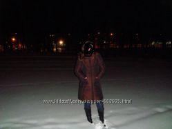 Пальто зимнее женское на синтапоне в отличном состоянии