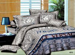 Красивые постельные комплекты из поплина ТМ Вилюта