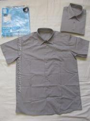 Тениска серая george размер 14 -15 лет