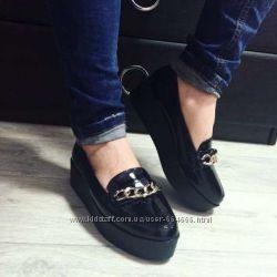 Туфли цепи