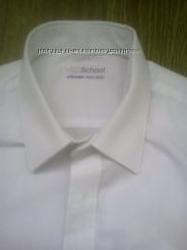 Школьная рубашка  и брючки M&S 7-8 лет