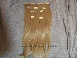 Волосы на заколках термоволокно