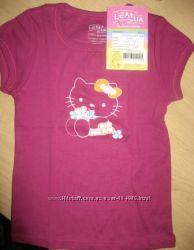 яркая футболка с китти Lemua 5-6 лет