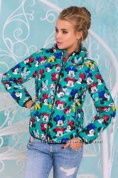 Модные демисезонные женские курточки