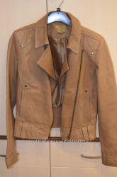 Кожаная куртка-пиджак Размер М