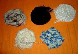 Много шарфиков и платков по доступной цене