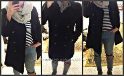 H&M LOGG пальто шерсть M-L