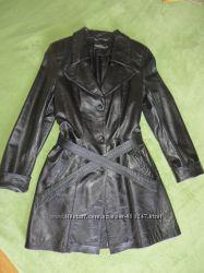 Куртка-плащ, натуральная кожа. Бесплатная доставка
