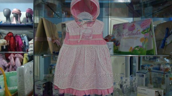 нарядное платье лето с чепцом испания mayoral