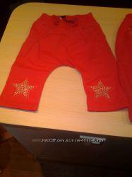 модные штанишки для девочек рост 68 и 74