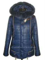 Зимняя женская куртка с мехом