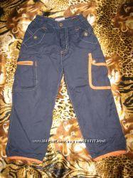 утепленные штанишки флисовая подкладка ZEPLIN  на 86 рост