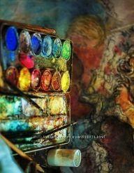 Обменяю, куплю не дорого или приму в дар не нужные художественные материалы