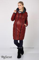 Куртка 2 в 1 беременность  обычная фигура без вставки Kristin