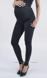 Леггинсы для беременных Basik черный, на баечке