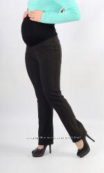 Плотные брюки для беременных на флисе
