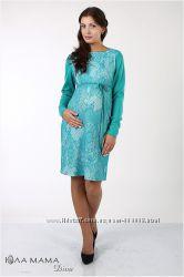 Женственное платье-карандаш для беременных из плотного трикотажа Milana