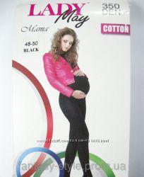 Колготки для беременных Lady May хлопок 350 DEN