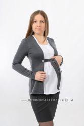 Серая блуза для беременных