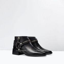 Ботинки Zara 37р -23, 5см по стельке