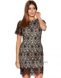 платье Бланко очень карасивое кружевное размер S