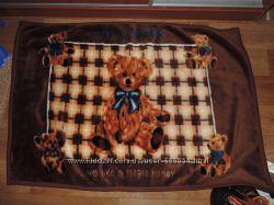 Велюровое детское одеяло