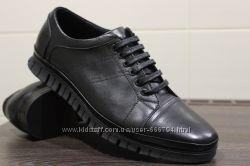 Мужские весенне-осенние кожаные туфли  ТМ Ego Line