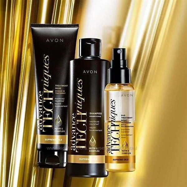 двухфазная сыворотка-спрей для всех типов волос Драгоценные масла Avon