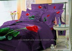 Комплект постельного белья сатин Wonderline 160х220