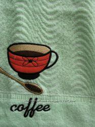 Полотенце махровое лицо, баня хлопок Чашка Кофе