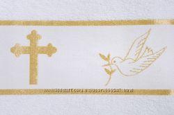 Полотенце для крещения махра 70х140 Крыжма Испания