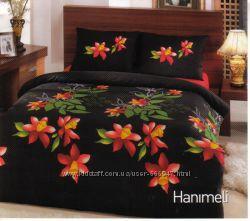 Комплект постельного белья Kristal хлопок полуторный 160х220 Турция