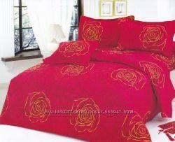 Комплект постельного белья сатин 160х220  4шт. наволочки в ассортименте