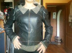 курточка женская кожвинил размер S-M