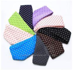 Модные разноцветные лосины в горошек