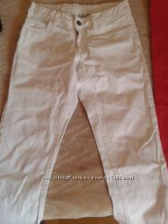 Продам белые джинсы COOL CLUB бу р. 140.