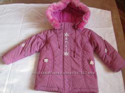 Зимняя куртка ТМ  DONILO   Рост 98 см на 3 года