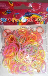 Светящиеся резиночки для плетения браслетов Loom Bands