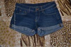 Джинсовые шорты H&M в идеальном состоянии, одеты 3 раза