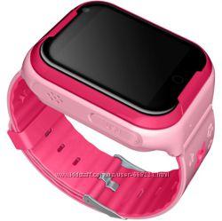 Детские умные часы телефон Smart Watch q402 с видеосвязью