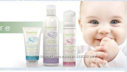 Органическая натуральная очищающая пенка для новорожденных без SLS Франция
