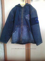 Очаровательная джинсовая куртка